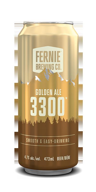 Fernie Brewing Co. 3300 Golden Ale