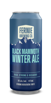 BLACK MAMMOTH™ winter ale