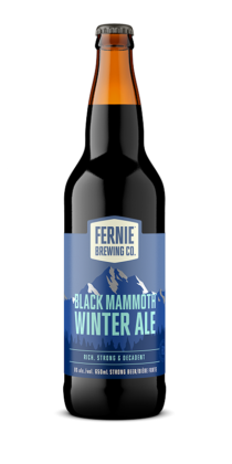 BLACK MAMMOTH™ winter ale