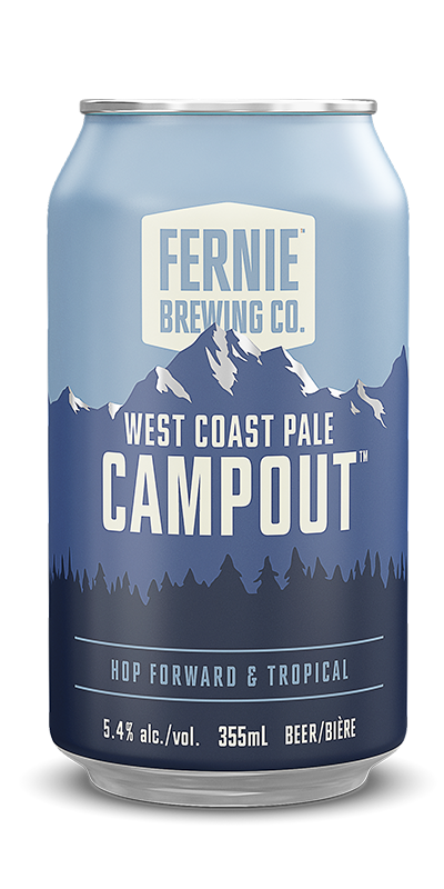 Fernie Brewing Co. Campout West Coast Pale