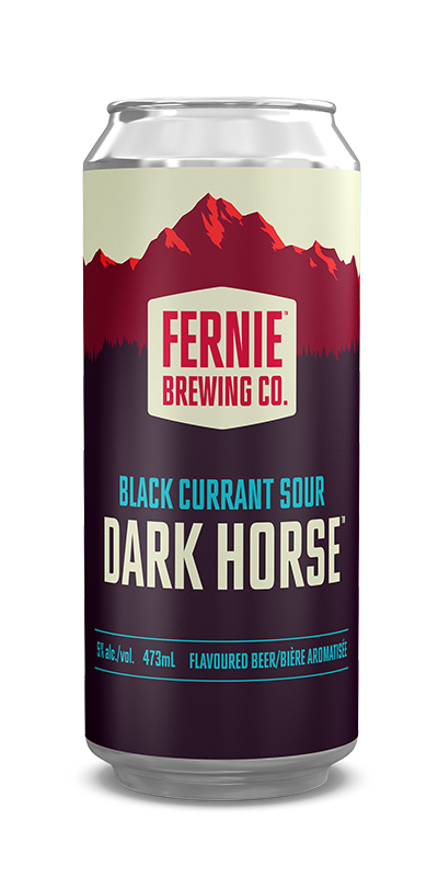 Fernie Brewing Co. Dark Horse Black Currant Sour