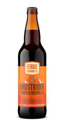 GHOSTRIDER™ pumpkin brown ale