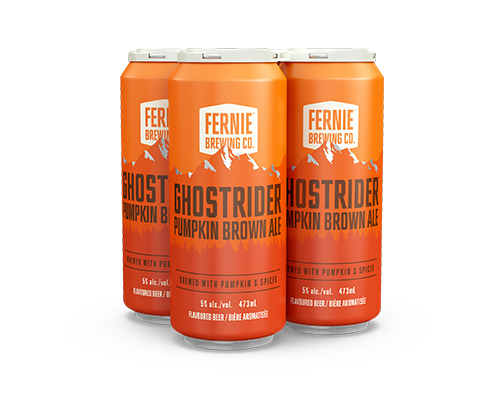 Four pack of Ghostrider beer