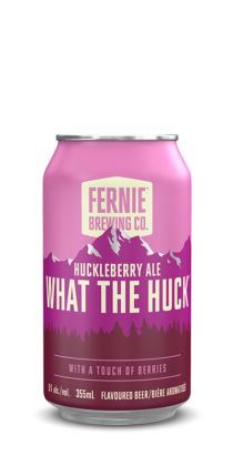 WHAT THE HUCK® huckleberry ale