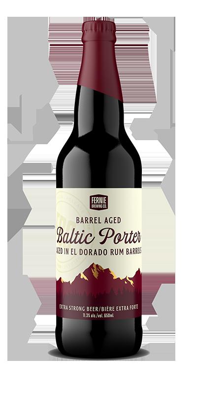 Fernie Brewing Co. Barrel Aged Baltic Porter