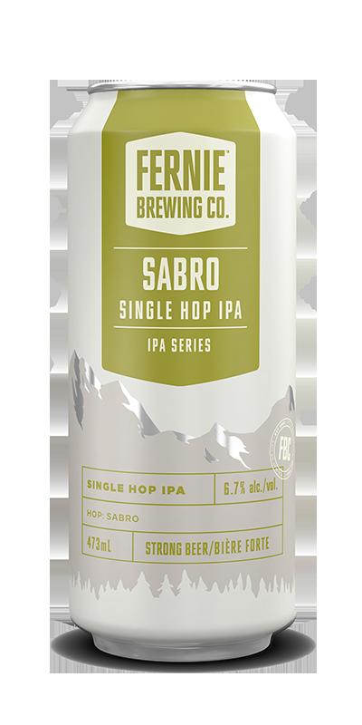 Fernie Brewing Co. Sabro Single Hop IPA