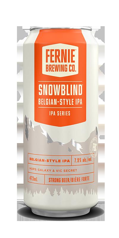 Fernie Brewing Co. Snowblind Belgian-Style IPA
