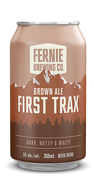 Fernie Brewing Co. First Trax Brown Ale