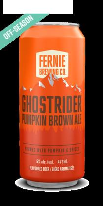 GHOSTRIDER™ pumpkin brown ale
