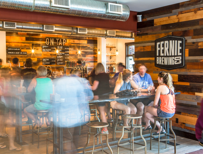 Fernie Brewing Co. Tasting Room