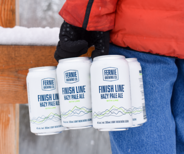 Finish Line Hazy Pale Ale with Lime 6-pack