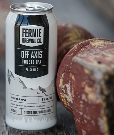 Off Axis Double IPA can