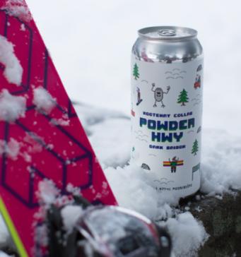 Kootenay collab brew – Powder Hwy Dark Saison