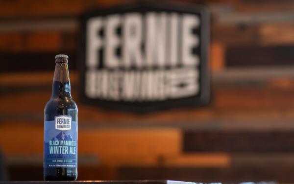 Fernie Brewing Co. Black Mammoth Winter Ale
