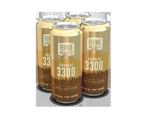 3300 Golden Ale 4-pack.