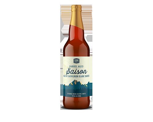 Barrel Aged Saison 650mL bottle
