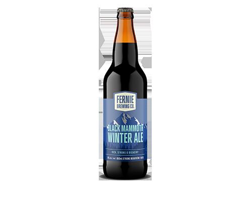 Black Mammoth Winter Ale 650mL bottle