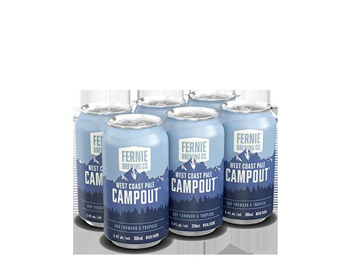Campout West Coast Pale 6-pack.