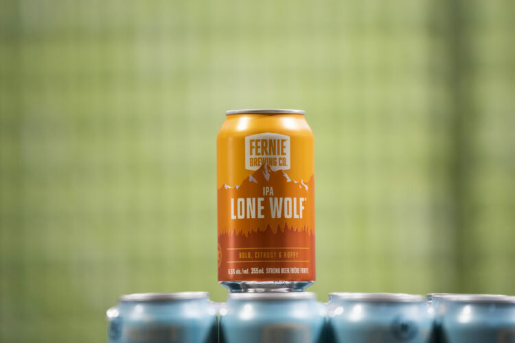 Can of Lone Wolf IPA