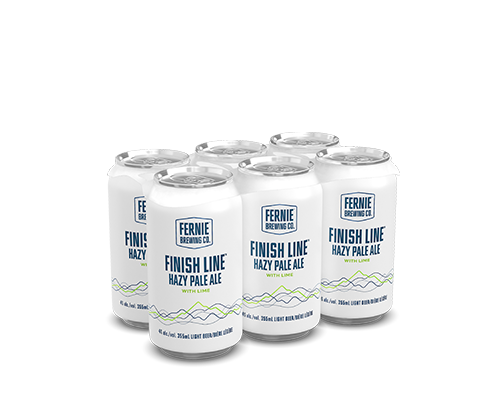 Finish Line Hazy Pale Ale with Lime 6-pack.
