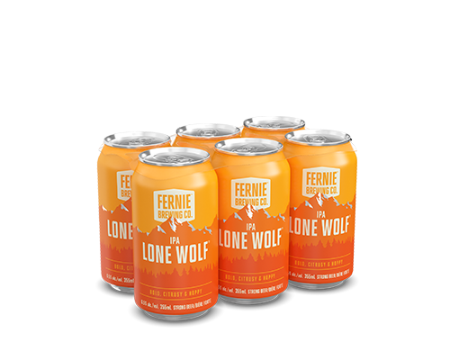 Lone Wolf IPA 6-pack.