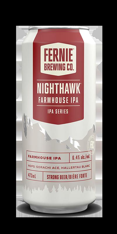 Nighthawk Farmhouse IPA can