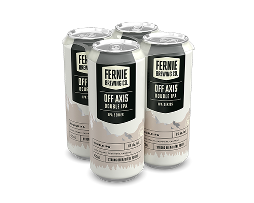 Off Axis Double IPA 4-pack