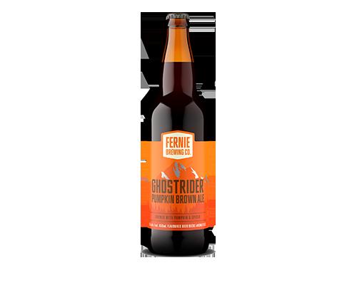 Ghostrider Pumpkin Brown Ale 650mL bottle
