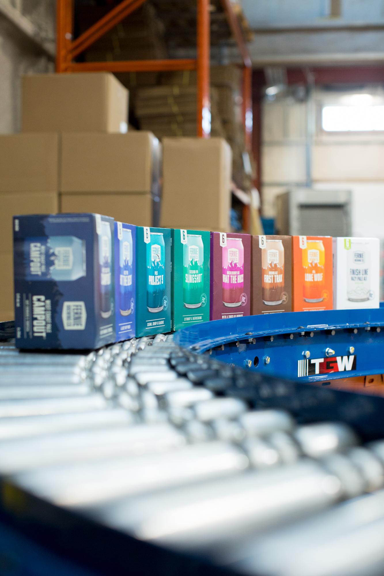 Beer in sustainable packaging
