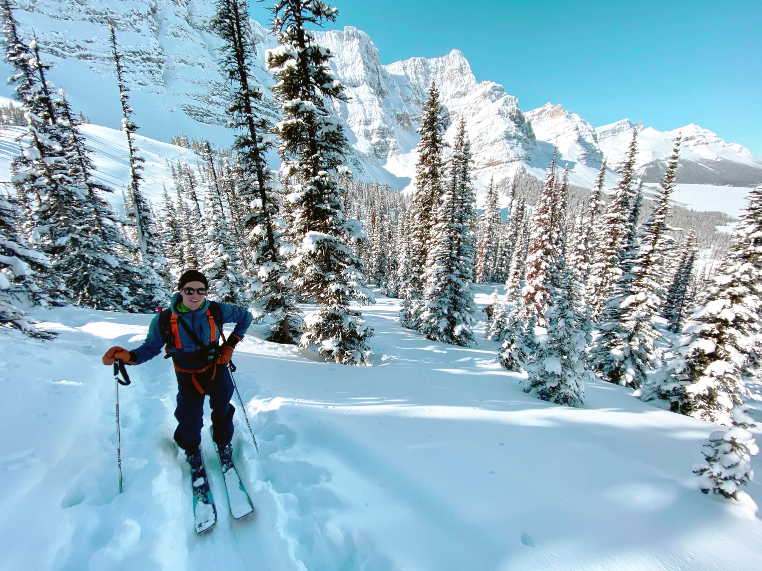 Moragan ski touring