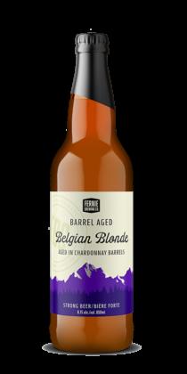 BARREL AGED belgian blonde