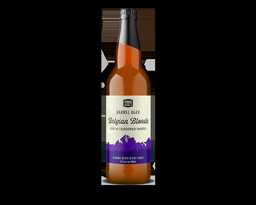 Bottle of Belgian Blonde