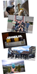 group shot of brewery staff