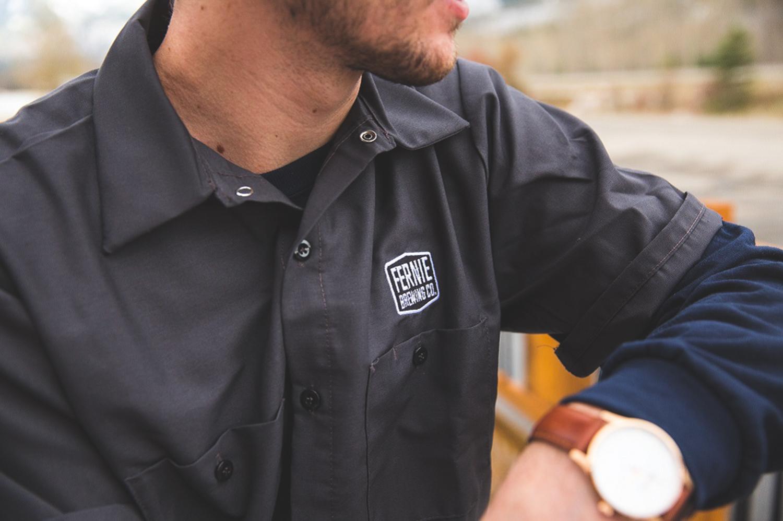 Warehouse worker wearing a uniform