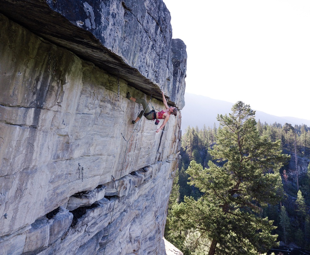 Jac climbing