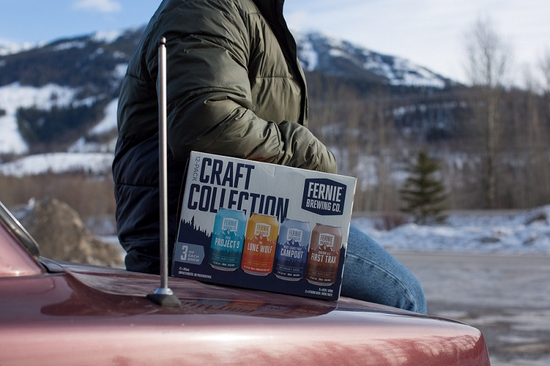 Craft Collection pack on car